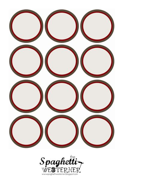 cupcake circle template 7 best images of blank printable cupcake toppers template