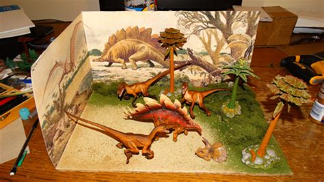 free printable dinosaur diorama backgrounds dinosaur diorama tutorial make your own dinosaur diorama