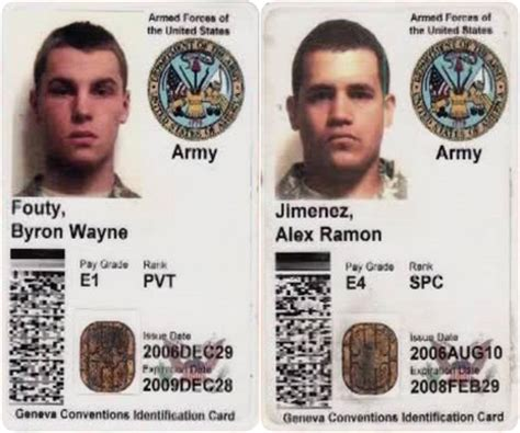 us army id card template file may 2007 soldier kidnappings id cards jpg wikimedia