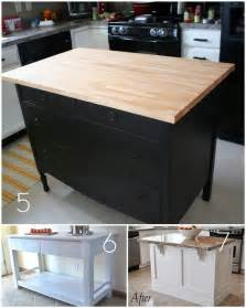 Kitchen Islands Diy Roundup 12 Diy Kitchen Tables Islands And Cupboards You Can Make Yourself 187 Curbly Diy