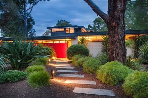 Australian Front Garden Ideas Beaumaris Mid Century Modern Australian Landscape From