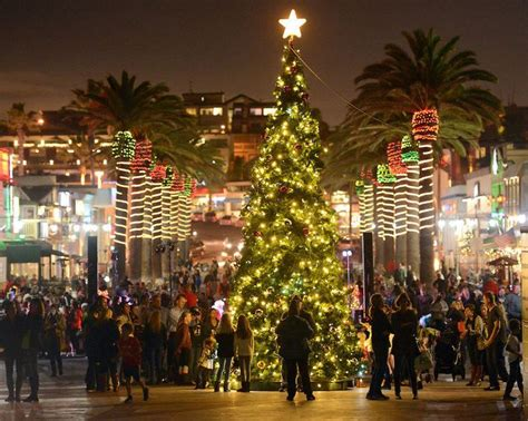 hermosa beach christmas tree lighting special events south bay by jackie