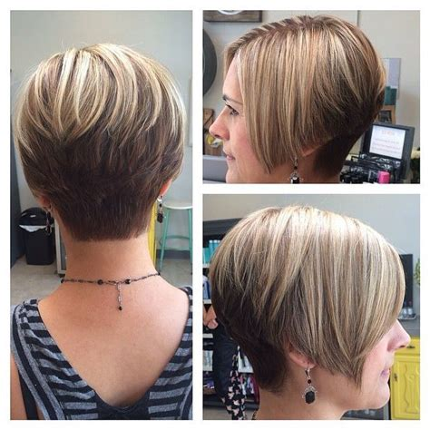 How To Style Graduated Bob | growing out pixie short layered graduated cut with short