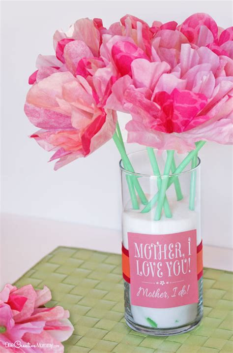 Sweet Gifts To Make For Mothers Day by S Day Gift Idea And Printables