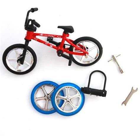 Finger Bike Sbego Bike 10pcs lot mountain finger bikes functional bicycle set mini boy toys finger bikes creative