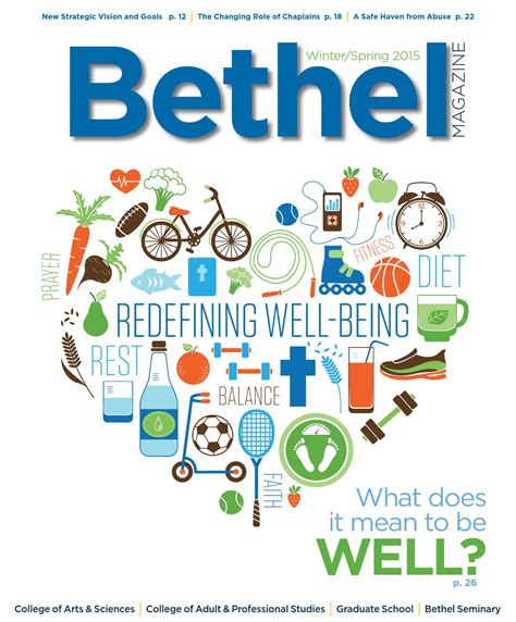 Bethel Success Mba by Bethel Magazine Winter 2015 By Bethel