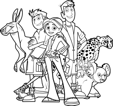 kratts coloring page remarkable kratts coloring pages 48 on seasonal