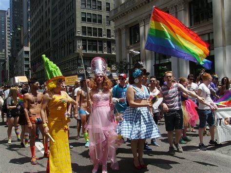 gay section of nyc nyc gay pride parade marks 45th anniversary of stonewall
