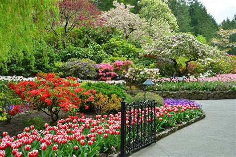 World Renowned Butchart Gardens On Vancouver Island Garden Flowers Vancouver