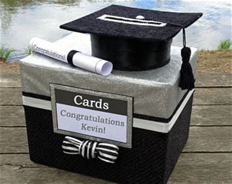 Graduation Gift Card Box - graduation card box etsy