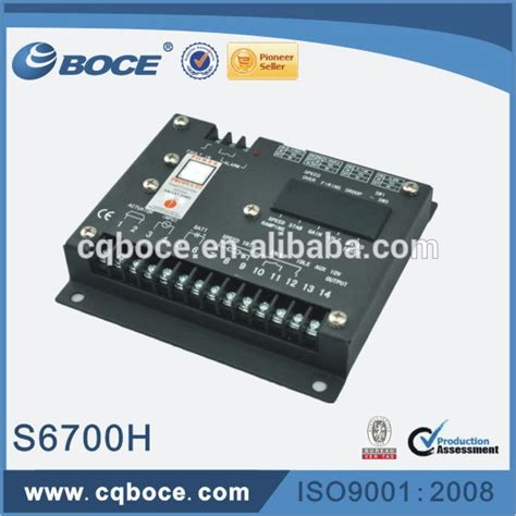Speed Controller S6700h governor for diesel generator speed controller s6700h