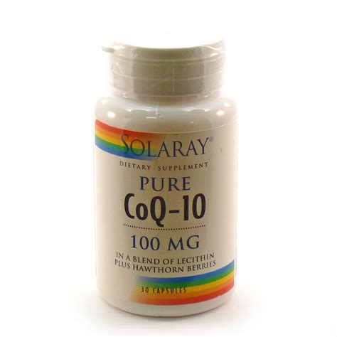 Obat Q Ten 100 Mg coq10 100 coenzyme q 10 100 mg by solaray 30 capsules