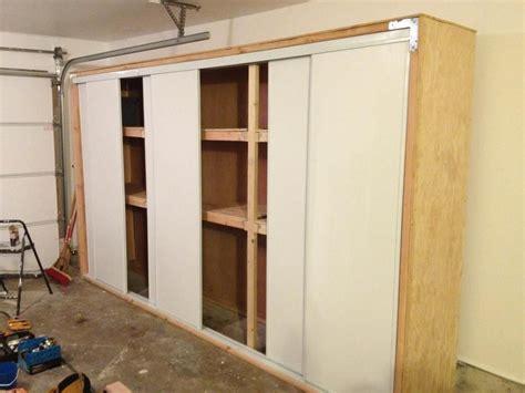garage storage cabinets with sliding doors diy garage storage heavy duty storage building garage