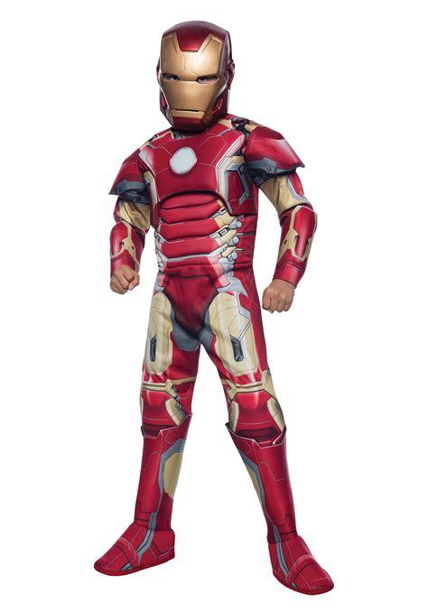 child deluxe iron man mark avengers costume