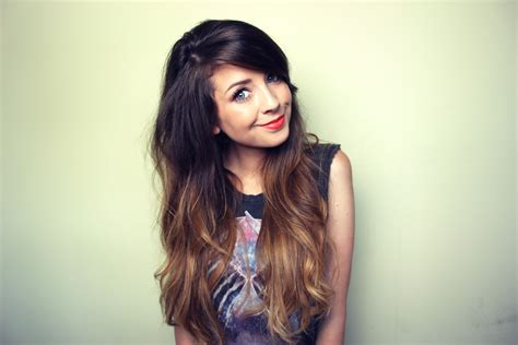 blogger zoella super happy to have my blonde ends back makes me feel a