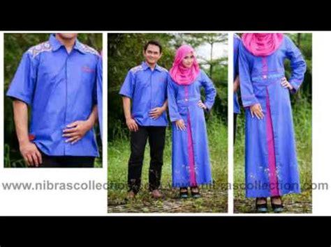Merk Baju toko baju gamis sarimbit merk nibras modern 2014 di tangerang