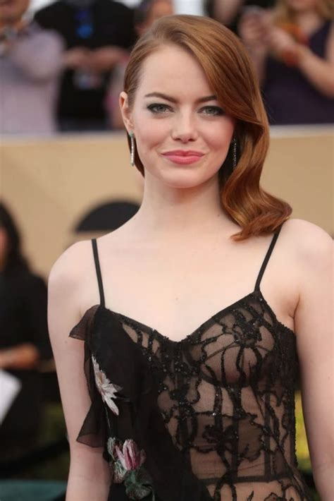 how old is actress emma stone these 15 hollywood celebrities went braless in 2018