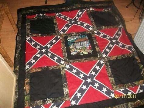 confederate flag bedding rebel flag blanket southern state of mind heritage not