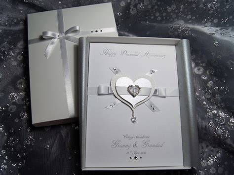 everlasting luxury handmade anniversary card
