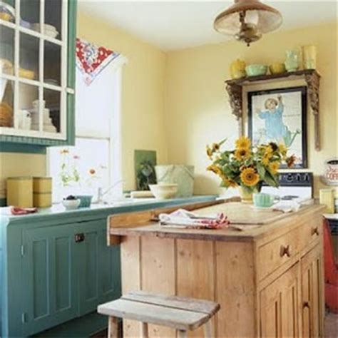 teal and yellow kitchen blue green cabinets kitchen ideas pinterest