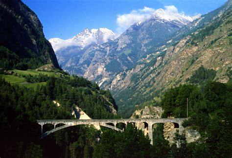swiss mountain swiss mountain bridge