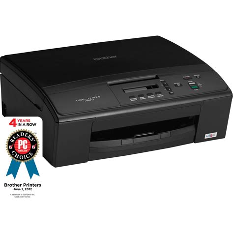 Printer Dcp J140w Dcp J140w Wireless Color All In One Inkjet Dcp J140w B H