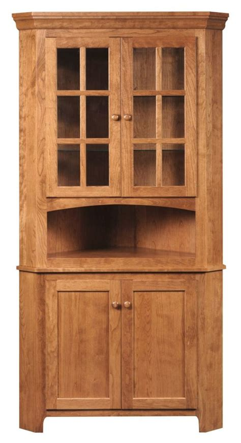 corner kitchen hutch furniture carlisle corner hutch gish s amish legacies