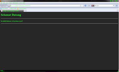 membuat web html dengan notepad cara membuat web melalui note pad harahapfile com