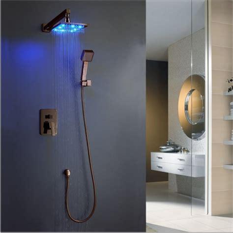 Kohler Bronze Kitchen Faucets Dark Oil Rubbed Bronze Shower Head With Hand Shower