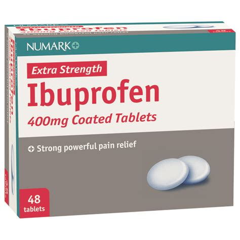 Tattoo Pain Relief Tablets | numark max strength ibuprofen 400mg tablets first 4 meds