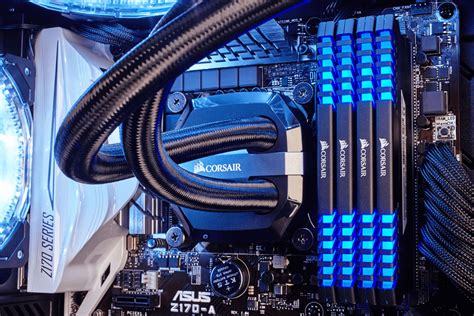 Memory Ddr4 Corsair Vengeance Led Cmu32gx4m2c3200c16b 2x16gb corsair vengeance led blue 16gb ddr4 3200mhz