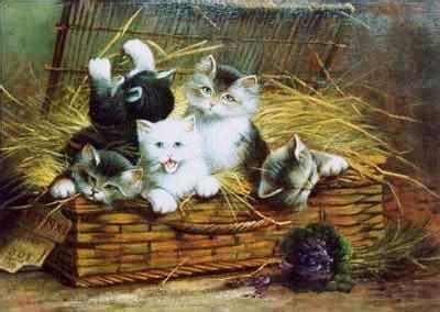 Lukisan Kucing 3 Acrylic Cat Painting lukisan kucing paintings of cats lukisan repro repro