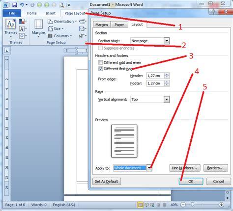 cara membuat halaman skripsi pada microsoft word 2007 cara penomoran skripsi pada ms word 2007 2010