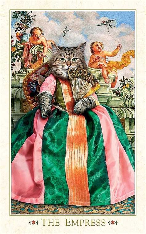 Acridium Capronyl by Baroque Bohemian Cats Tarot 17 Best Images About Cats In