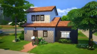 Cheap Floor Plans Build Starter Brick Home Sims 4 Houses
