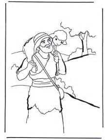 Good Shepherd Coloring Page sketch template