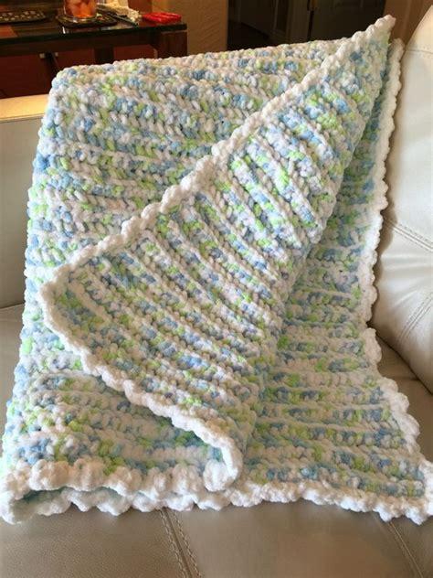 crochet pattern using bernat blanket yarn crocheted baby quilt with bernat baby blanket yarn