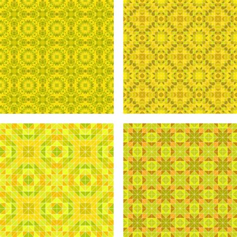 yellow pattern ai yellow patterns collection vector free download