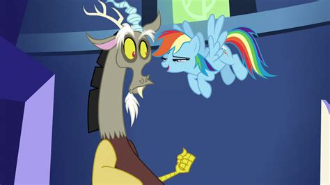 discord wiki image rainbow teasing discord s5e22 png my little pony