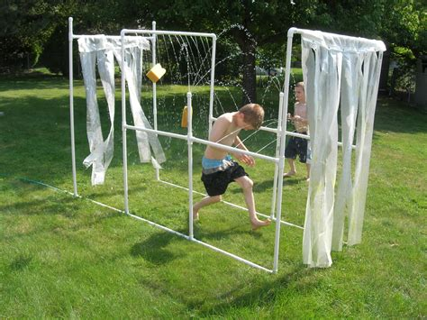 pvc outdoor shower diy showcase 5 diy pvc pipe projects