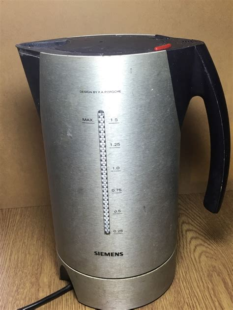 Siemens Porsche Kettle by Siemens Porsche Kettle Working Order Designed By