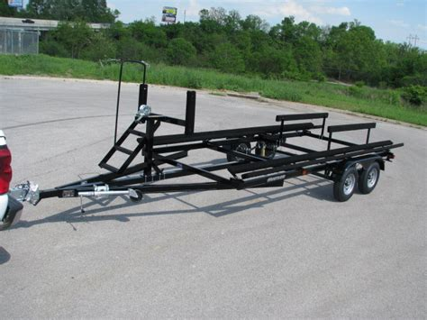 pontoon boat trailer specifications 2018 hustler tandem axle trailers for sale in richmond ky