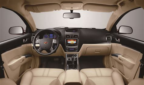 Geely Emgrand Interior china s geely enters brazil with emgrand ec7 sedan