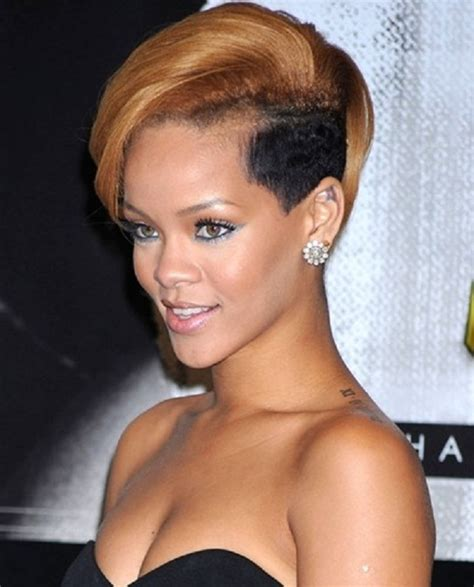 african american women celebrity cute short hairstyles celebrities with a shaved edgy look hairstyle women