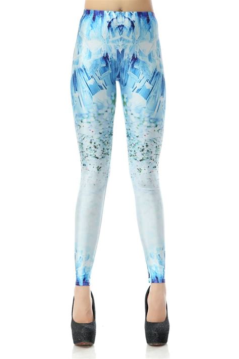 Cool Patterned Leggings | cool style galaxy patterned print halloween spandex