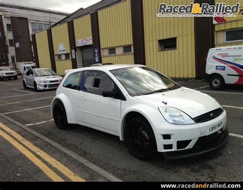 fiesta  duratec fwd rally car  rally cars  sale  raced rallied rally cars