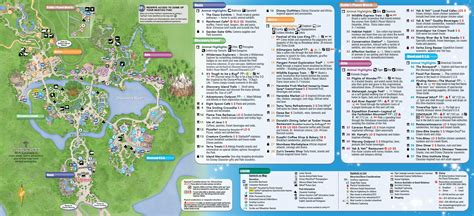 printable map of animal kingdom orlando january 2016 walt disney world park maps in animal kingdom