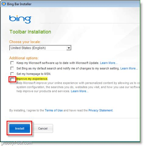 How Do I Install Bing Toolbar Microsoft Community | microsoft replaces msn live toolbar with bing bar
