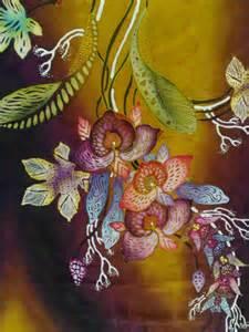 corak batik colouring pages