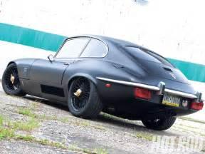 Custom Jaguar E Type 1971 Jaguar Xke Flat Black Small Block Powered E Type